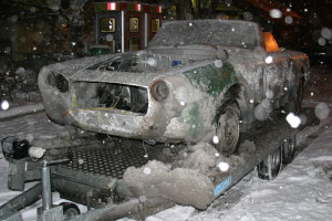 """Lancia Flaminia Restaurierung: """"Das"""" kam im tiefen Winter nach Wien"""