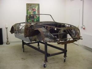 Lancia Flaminia Restaurierung: Tiefpunkt der Zerlegung