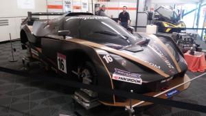 Autosalon Wels 2015 - Teil der Rennwagen-Show