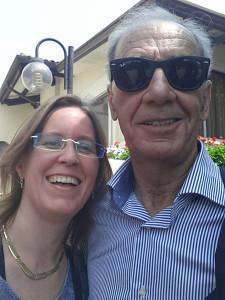 Lady Fulvia mit Sandro Munari in Vicenza 2014