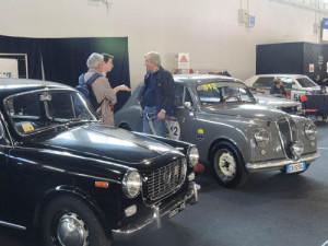 Auto e Moto d'Epoca in Padua 2015 - Appias auf dem Clubstand