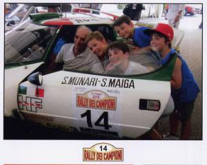 Rally dei Campioni 2015 - Schirmherr Sandro Munari