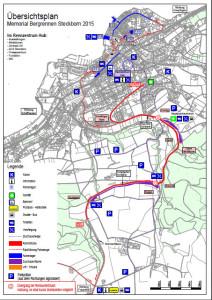 Steckborn-Eichhölzli 2015 - die Strecke