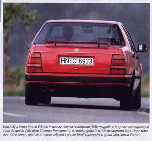 Sonderausführung für Lancia Deutschland