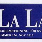 La Lancia Nr. 124 November 2015