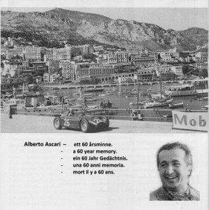 La Lancia Nr. 214 - 60 Jahre A. Ascari