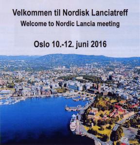 La Lancia Nr. 214 - Einladung nach Oslo