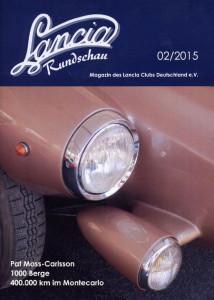Lancia Rundschau 02/2015 Titelseite