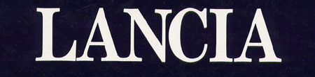 Lancia-Literatur – Stand 1.2016