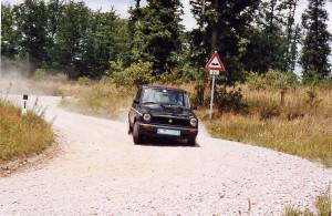 Waldviertel 2003 - Heinz Böck Autobianchi A112