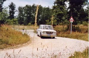 Waldviertel 2003 - Thomas Ceschka auf Fulvia Berlina