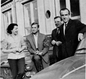Rallye Vltava 1965: Claudine Bouchet - René Trautmann - Giorgio Pianta und Luciano Lombardini - die HF Squadra Corse in der Rallye-Europameisterschaft.