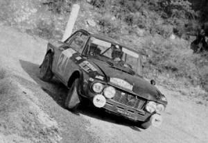 Rallye Monte Carlo 1970 - mit einer Jolly Club-Fulvia Platz 10