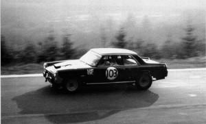 24 Stunden von Spa-Francorchamps 1964 - Pianta auf Flaminia Coupé