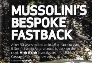 Classic & Sportscar 1.2016 - Lancia Astura