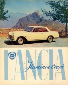 Flaminia Coupé Pininfarina - Werbung