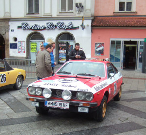 Winterrallye Steiermark 2016 - Beta Coupé 1976