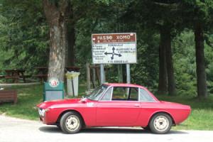 Rallye-Helden der Vormoderne: Passo di Xomo - vor der Abfahrt zum Gardasee