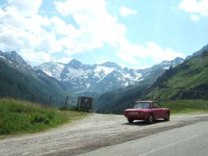 Rallye-Helden der Vormoderne: Heimweg: Auffahrt von der italienischen Seite auf das Timmelsjoch