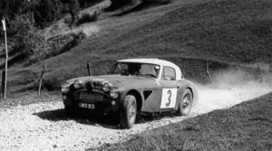 Rallye-Helden der Vormoderne: Spa-Sofia-Liège 1964: Rauno Aaltonen/Tony Ambrose auf dem Xomo