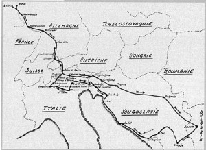 Rallye-Helden der Vormoderne: Liège - Sofia - Liège 1962: Der Streckenplan