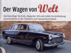AutoBild 4/2016 - Flaminia Berlina