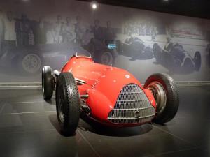 Museo Alfa Romeo Arese - die Alfetta, Weltmeister 1950 und 1951