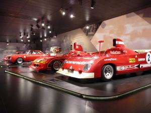 Museo Alfa Romeo Arese - die Rennsportwagen der 1960er und 1970er-Jahre