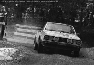 Beta Coupé - Rallye Raika Tyrol 1977