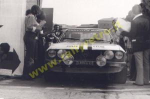 Beta Coupé - Carello - Mannini - Rallye Internazionale IX. Coppa Liburna Campionato Italiano 1975