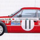 Beta Coupé Rallye – 2. Teil