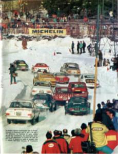 24 Heures du Chamonix 1974 - heftiges Gedränge