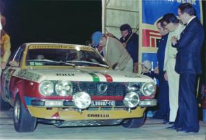 Rallye Elba 1974 - von University Motors präparierter Beta