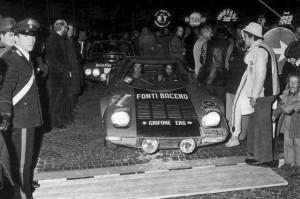 Rallye nazionale Valle d'Aosta: Sieger Pelganta/Orlando im Grifone-Stratos. HF Trophy 3. Platz