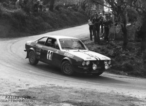 Rallye 4 Regioni 1975 - Ambrogetti/Torriani - bergab