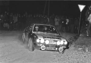 Casarotto bei der Rallye Campagnolo