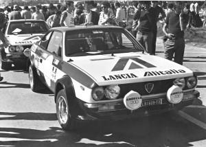 San Remo 1975: Lampinen/Andreasson vor dem Start