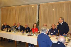 Fulvia Day 2016 - das Abendessen