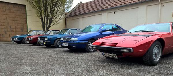 Es hätten auch zwei Zylinder gereicht, um vor den Lancias zu fahren!