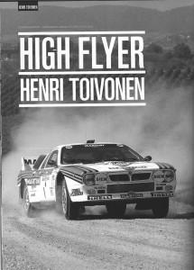 AUTOMOBILSPORT #08 - Henri Toivonen