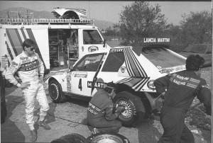AUTOMOBILSPORT #08 Henri Toivonen beim Service seines S4