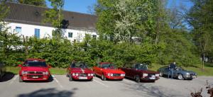 Lancia Club Deutschland Frühjahrestreffen 2016 - die Fulvias