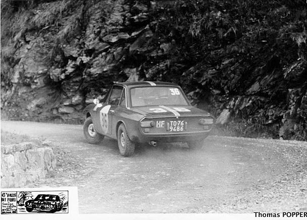 Rally dei Fiori 1966 - Leo Cella/Luciano Lombardini