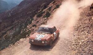 Rallye Akropolis 1968 - Harry Källström/Gunnar Haggbom