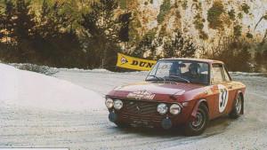 Rallye Monte Carlo 1968 - Pat Moss-Carlsson/Elizabeth Nyström