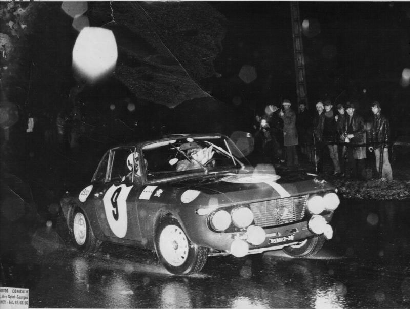 Rallye Neige & Glace 1968 - René Trautmann/D. Guichard
