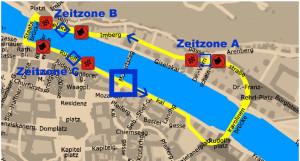 Gaisbergrennen 2016 - die Strecke des Stadt Grand Prix