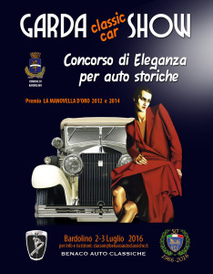 Concorso Gardasee 2016 - das Plakat
