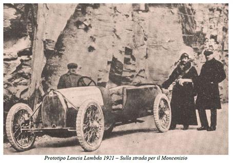 Gazzetta N.21 - Prototipo Lancia Lambda 1921