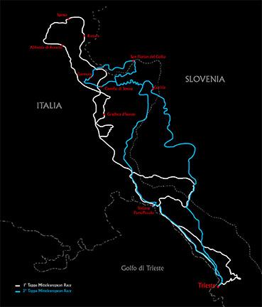 Mitteleuropean Race 2016 - die Streckenführung
